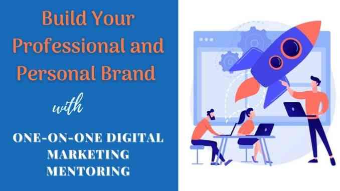 build your brand with digital marketing mentoring