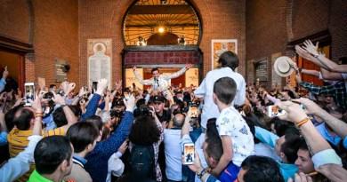 Llegar y tocar la gloria, Puerta Grande de David de Miranda en su confirmación en Madrid