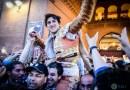 Roca Rey desoreja al gran sexto de Parladé en faena de lío gordo en Las Ventas