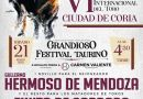 Festival taurino en Coria con motivo de la VI Feria Internacional del Toro