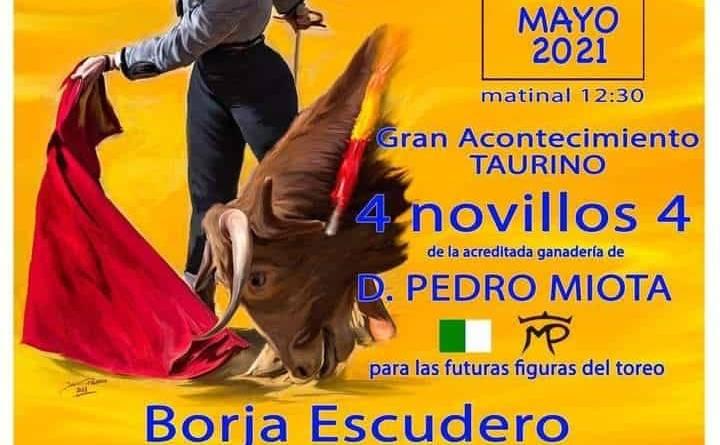 Las Majadas celebrará una novillada sin picadores el 1 de mayo