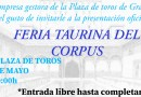 Esta tarde se presenta la Feria del Corpus de Granada 2021