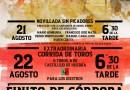 Chipé Producciones programa una corrida y una novillada sin picadores en Tarazona de la Mancha