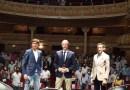 El Gran Teatro de Huelva se llenó de toreo con Roca Rey y David de Miranda