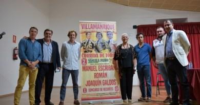 Escribano, Román y Galdós harán historia en Villamanrique
