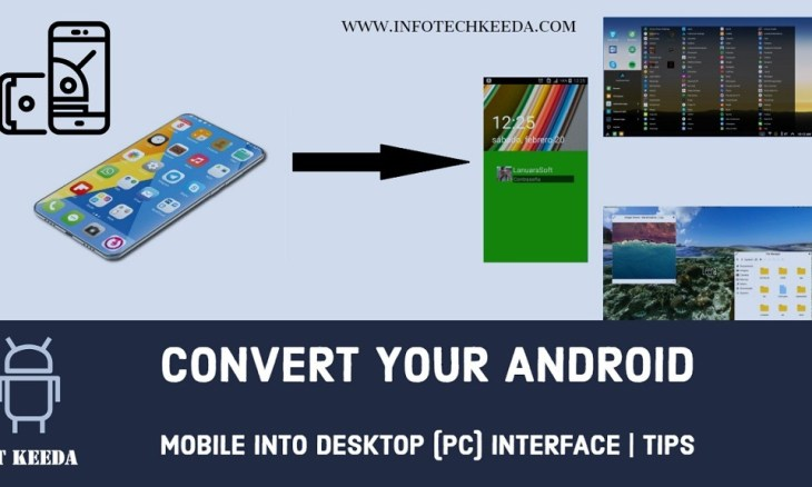 Android into Desktop interface