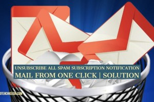 Spam mails solution