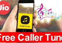 how to set caller tune in jio for