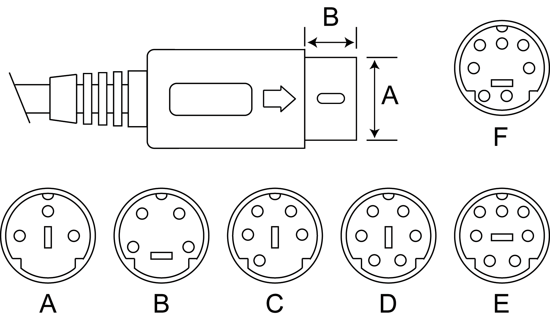 9 Pin Din Connector Wiring Diagram