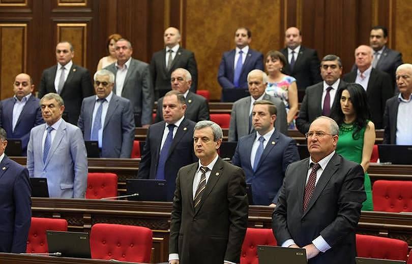 Республиканская партия Армении сегодня бойкотировала брифинги НС