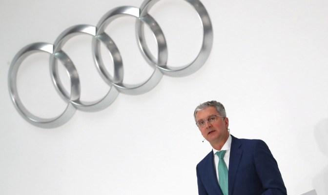 глава Audi