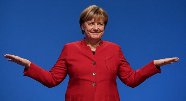 Меркель перепутала