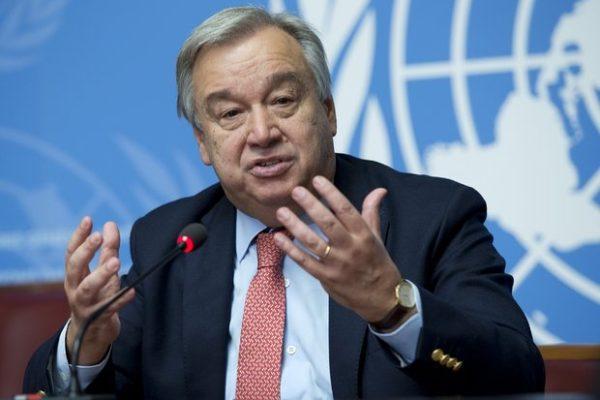 """Генсек ООН назвал передачу власти в Армении """"фантастическим примером"""""""