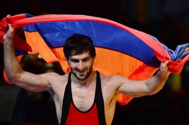 ЧМ по вольной борьбе: Давид Сафарян со счетом 10:0 одержал победу над азербайджанцем, представляющим  Израиль