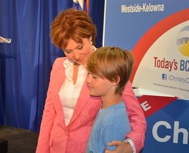 Christy Clark kicks-off her campaign in West Kelowna ...