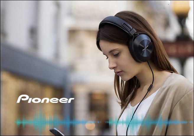 Fones de Ouvido Pioneer