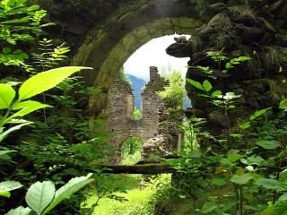 Abbaye de Saint Orens par Louloup.