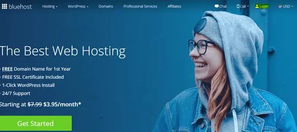 Logging in cpanel through the Bluehost website