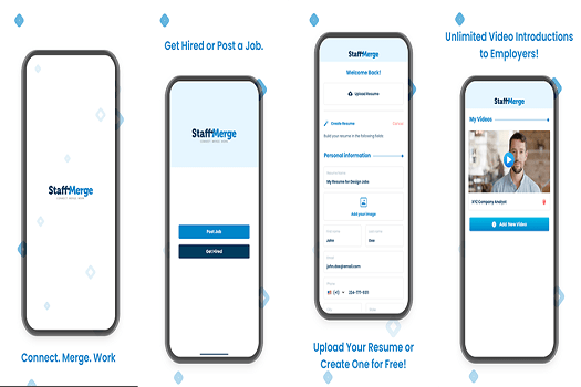 StaffMerge - Connect, Merge, Work Best Job Search Apps to Find You Dream Job in 2020 1