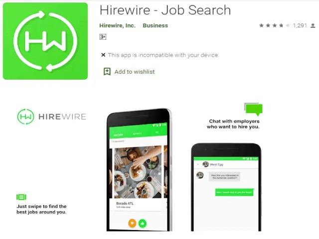 Hirewire - Best Job Search Apps