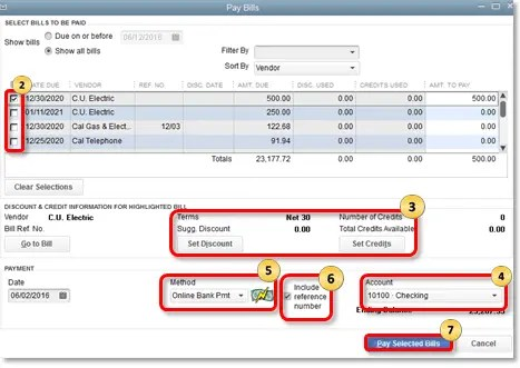 QuickBooks Online Bill Payment How it is Used 1