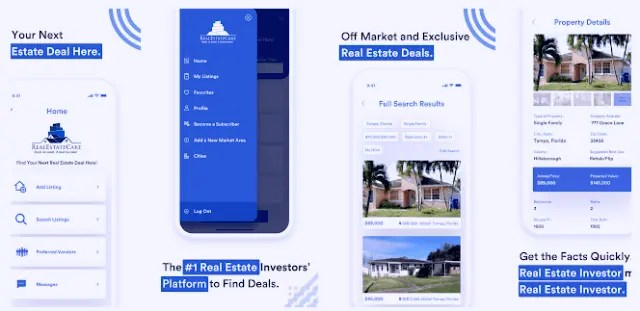 Best Real Estate Apps 2021 - Buy And Sell Your Home - RealEstateCake - Deals so sweet, it must be cake!