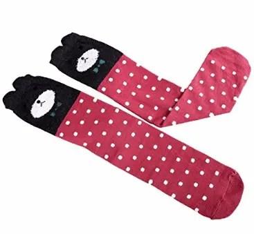 Knee-High Style Casual & Formal Wear Socks For Kids