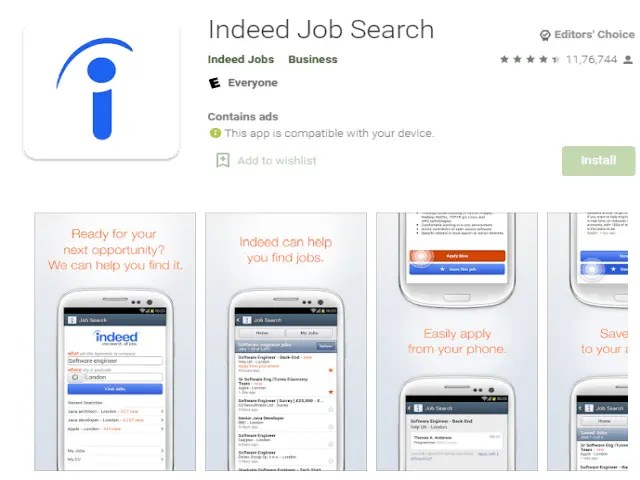Indeed Job Search Top 6 Best Job Search Apps 2021