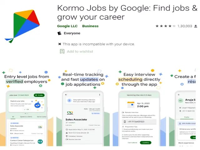 Kormo Jobs by Google Find jobs & grow your career Best job search apps