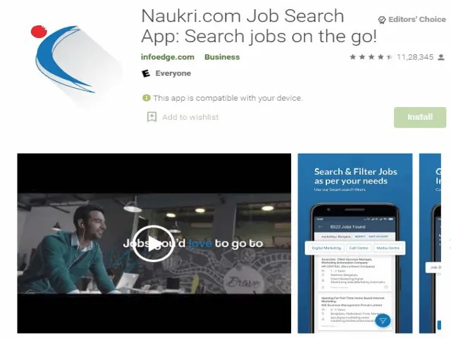 Naukri.com Job Search App - Search jobs on the go! Best job search apps