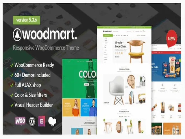 Woodmart Top E-Commerce WordPress Theme For Business In 2021
