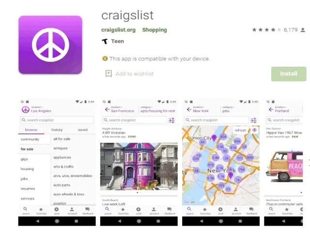 craigslist Top 6 Best Job Search Apps 2021