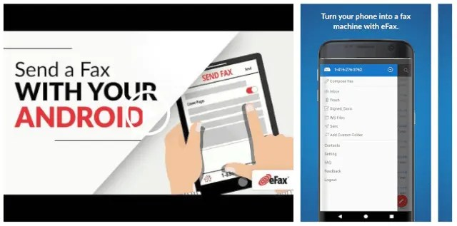 eFax Send Fax from Phone (Official Fax App) Top Trending Fax App For Android For 2021