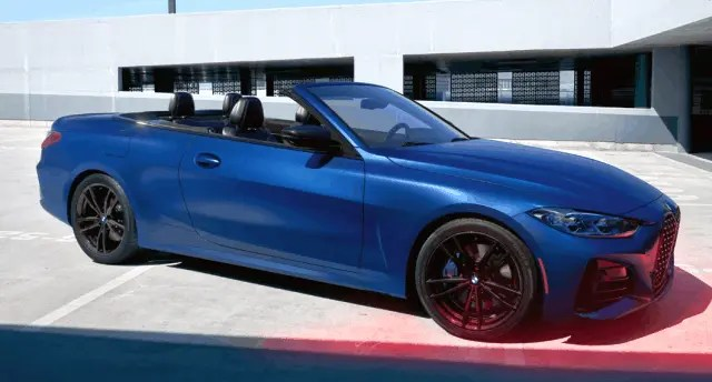 BMW 4-Series Convertible 2021's Line-up 7 Exotic Cars Revealed
