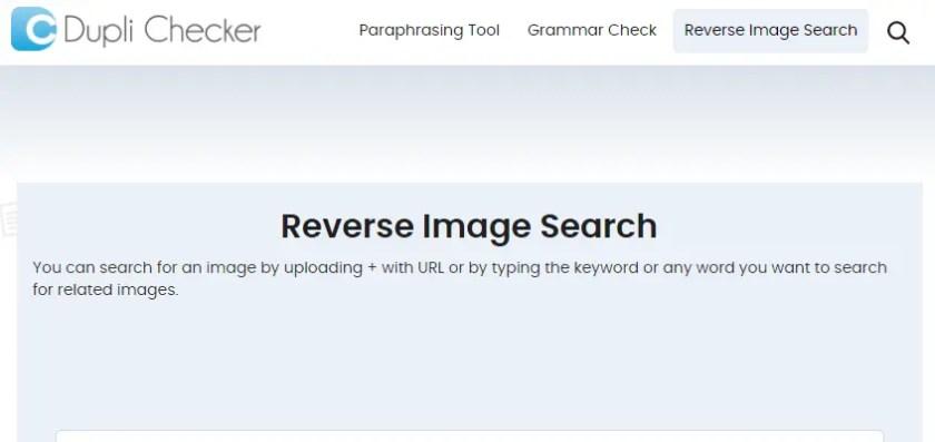 Dupli checker Reverse Image Search