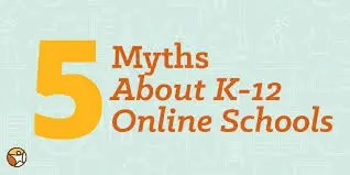 Top 5 Myths Busted About K-12 Online Home Schooling! And Time is About It 1