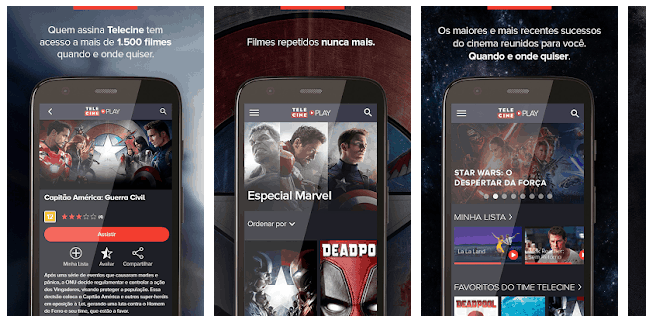 Telecine - Android TV