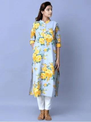 Top 10 Latest Kurti Designs For Printed Cotton Kurtis 6