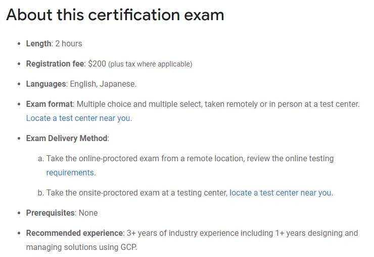 Google Certified Professional Cloud Architect Top Certifications