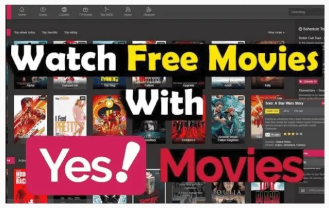 Top 6 Websites to Watch Free Movies Without Sign Up Yesmovies