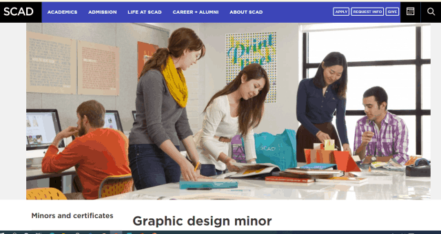 15 Best Part-time Graphic Design Courses For A Creative Designing Career SCAD Graphic Design Course