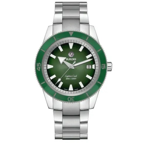 Rado Watches Rado Tradition Captain Cook Green