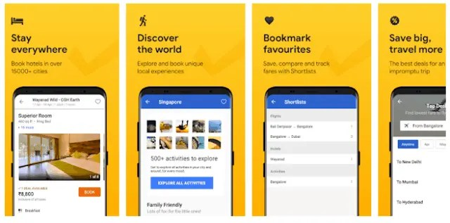 Best Hotel And Flight Ticket Booking Apps For Android 2021 Cleartrip - Flights, Hotels, Train Booking App