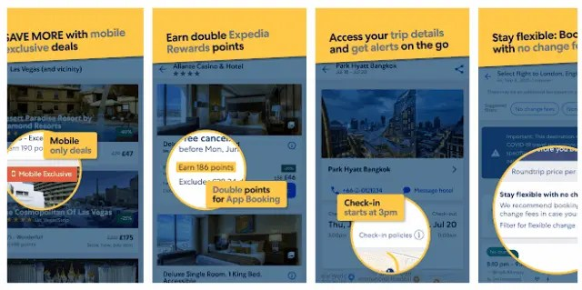 Best Hotel And Flight Ticket Booking Apps For Android 2021 Expedia Hotel, Flight, Car Hires & Activities