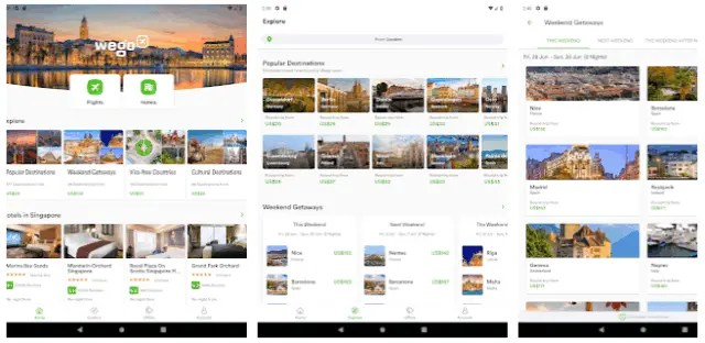 Best Best Hotel And Flight Ticket Booking Apps For Android 2021 Wego Flights, Hotels, Travel Deals Booking AppHotel And Flight Booking Apps For Android 2021 Wego Flights, Hotels, Travel Deals Booking App