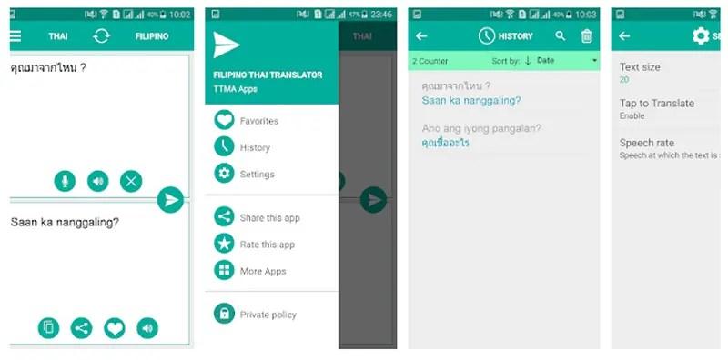 Best Thai Translator App For Android 2021 Filipino Thai Translator