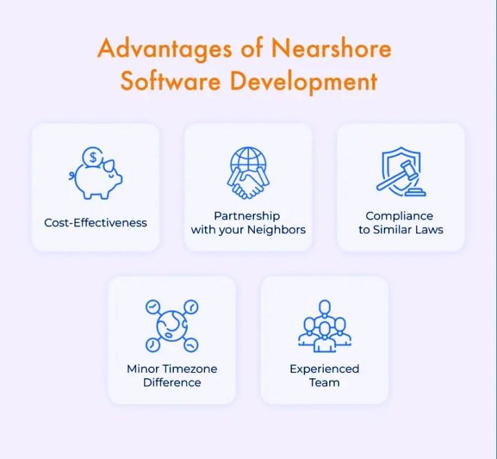 Benefits of nearshore software development