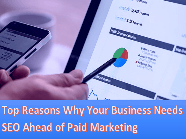 Top 5 Reasons Why Your Business Needs SEO Ahead of Paid Marketing