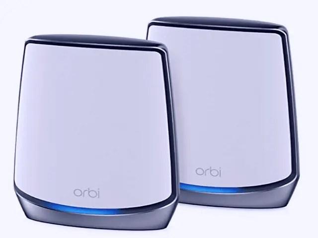 Best Small Business Routers Netgear Orbi Wi-Fi 6