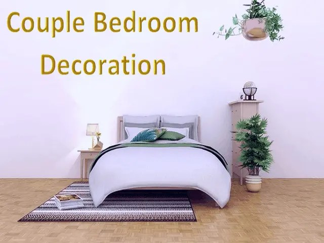 Couple Bedroom Decoration - 4 Things To Consider For It